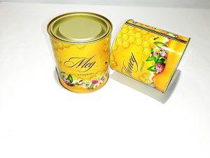 Метален контейнер за мед 1 кг