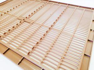 Ханеманова 10 рамкова с крачета