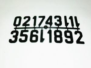 комплект цифри 1-13