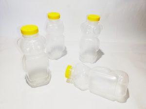 опаковка за мед мече 720 мл, пластмасова