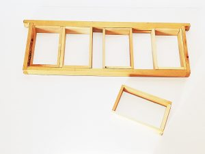 рамки за бутиков мед, дървени
