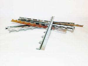 релси фиксиращи 10 рамкови, огънати