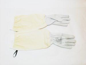 ръкавици естествена кожа с ръкавели