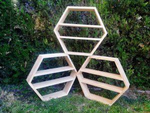 стелаж дървен, пчелна килийка