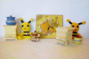 Декоративни кошери, сувенири, лъжички
