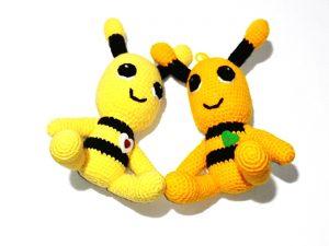 Пчела плетена, декоративна