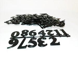 цифри за кошер, комплект 1 до 10