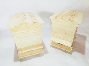 Кошерче декоративно с капак тип покрив , среден