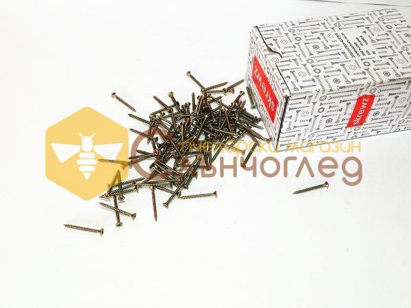 винт за дърво 3,5 х 40 мм - кутия 1000 бр