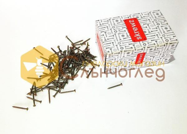 винт за дърво 3,5 х 50 мм - кутия 1000 бр