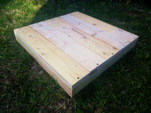 Покривна табла за 12 рамков кошер