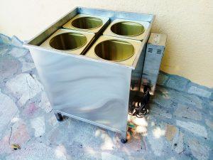 Декристализатор за 4 тенекии