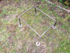 стойка за 12 рамков кошер, метална