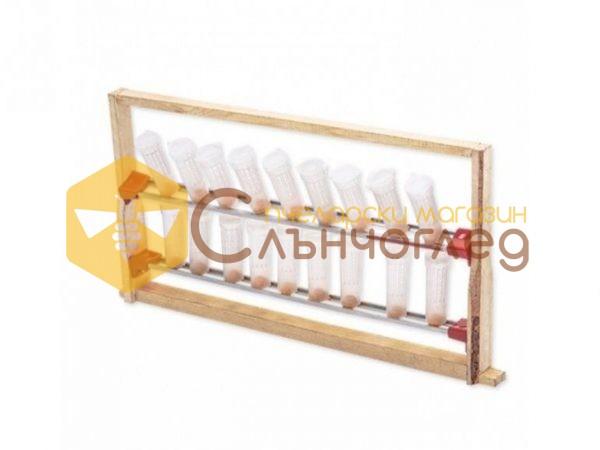 Алуминиеви релси с чашки за матоник